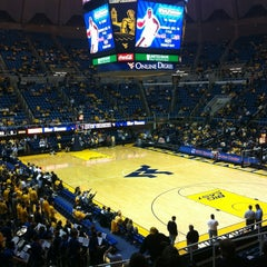 Photo taken at WVU Coliseum by Jon D. on 11/28/2011