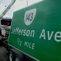 Photo taken at I-64 Exit 255: Jefferson Ave by Eric W. on 12/22/2011