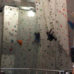 Photo taken at Big Rock Climbing Centre by Dixon J. on 2/11/2012