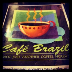 Photo taken at Cafe Brazil by Kendall W. on 7/13/2012