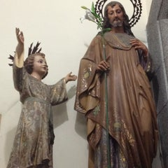 Photo taken at Iglesia Santa Eduvigis by German Andres J. on 7/17/2012
