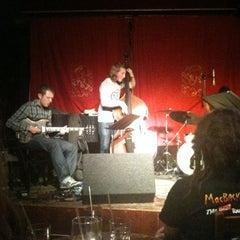 Photo taken at Matt & Phreds Jazz Club by Erinma O. on 4/29/2011