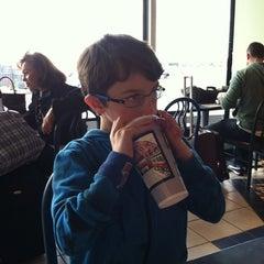 Photo taken at Villa Fresh Italian Kitchen by David L. on 4/13/2012