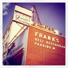 Photo taken at Franks Deli & Restaurant by Staci on 8/22/2011