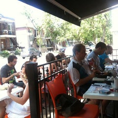 Photo taken at L'Oeufrier by Stephane G. on 7/16/2011