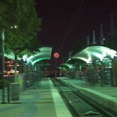 Photo taken at Victory Station (DART Rail / TRE) by Carlton L. on 8/22/2011