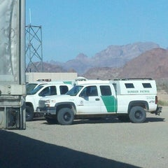 Photo taken at Border Patrol Checkpoint by Meri N. on 3/8/2012