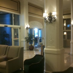 Photo taken at King Edward Hotel (Hilton Garden Inn Jackson) by Debra M. on 8/28/2011