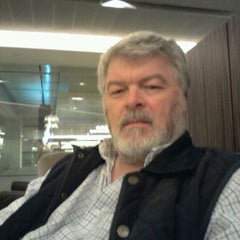 Photo taken at The Qantas Singapore Lounge by Chris R. on 1/19/2012