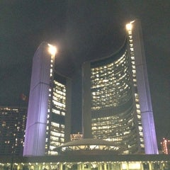Photo taken at Nathan Phillips Square by David H. on 5/29/2012