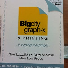 Photo taken at Big City Graph-X & Printing by Matthew S. on 8/2/2011