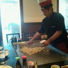 Photo taken at Fuji Hana Hibachi Steakhouse & Sushi Bar by Fred S. on 1/2/2012