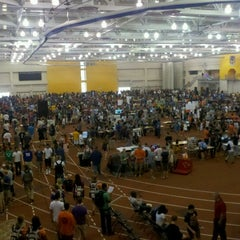 Photo taken at Gordon Field House & SLC by Erin on 9/2/2012