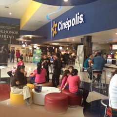 Photo taken at Cinépolis by Angel V. on 7/21/2012