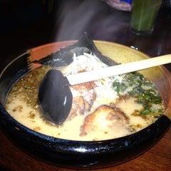 Photo taken at Kanpai Japanese Sushi Bar & Grill by Stephane P. on 8/1/2012