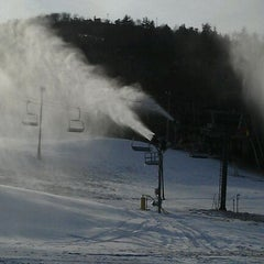 Photo taken at Gunstock Mountain Resort by Cathy B. on 12/17/2011