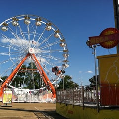 Photo taken at Mississippi State Fairgrounds by Patti P. on 10/7/2011