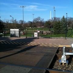 Photo taken at Metra - Deerfield by Scott B. on 4/29/2011