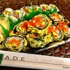 Photo taken at Jade Asian Fusion by Stace B. on 6/6/2012