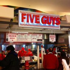 Photo taken at Five Guys by Stan E. on 12/30/2010