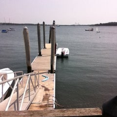 Photo taken at Saunderstown Yacht Club by luke on 8/17/2012