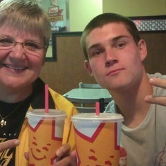 Photo taken at Hardee's by Karli M. on 8/17/2012
