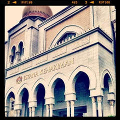 Photo taken at Istana Kehakiman (Palace of Justice) by Muhammad Nizam R. on 7/16/2012