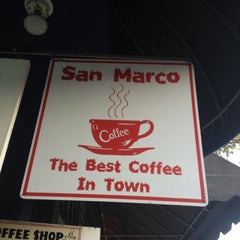 Photo taken at Cafe San Marco by Jonathan D. on 6/18/2012