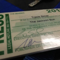 Photo taken at The Jackson Sun by Tracie S. on 3/7/2012