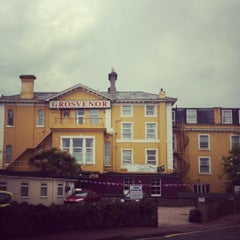 Photo taken at Grosvenor Hotel by Rebecca G. on 6/11/2012