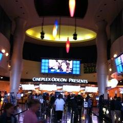 Photo taken at Cineplex Odeon Queensway Cinemas by Rayissa P. on 6/1/2012