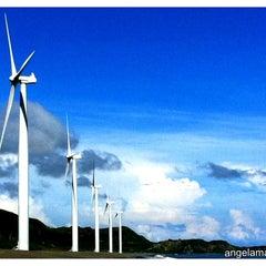 Photo taken at Bangui Windmills by angela m. on 8/19/2012