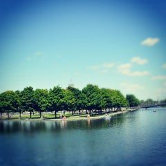 Photo taken at Esplanade du Centenaire, Canal Lachine by Doctor K. on 6/9/2012