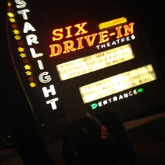 Photo taken at Starlight Six Drive-In by Ki T. on 8/25/2012