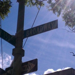 Photo taken at 151st & Broadway by Jae J. on 6/22/2012