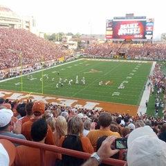 Photo taken at Darrell K. Royal-Texas Memorial Stadium by Ivan on 9/2/2012