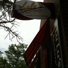 Photo taken at Lulu's Noodles by Beth D. on 6/22/2012