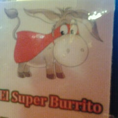 Photo taken at El Super Burrito by Kevin R. on 2/21/2012