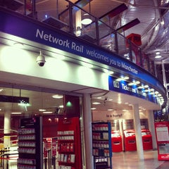 Photo taken at Manchester Piccadilly Railway Station (MAN) by Ji Ho P. on 5/28/2012