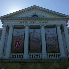 Photo taken at Bascom Hall by John Christian H. on 6/12/2012