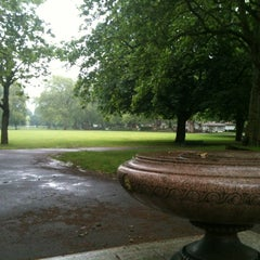 Photo taken at Kennington Park by Tim N. on 6/21/2012
