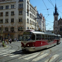 Photo taken at Strossmayerovo náměstí (tram) by Tigra . on 6/28/2011