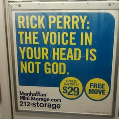 Photo taken at Manhattan Mini Storage by Charlie on 10/22/2011