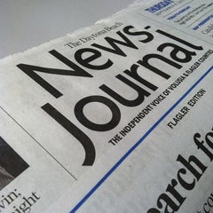 Photo taken at Daytona Beach News Journal by Chris B. on 9/16/2011