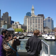 Photo taken at New England Aquarium Whale Watch by Tao H. on 4/29/2012