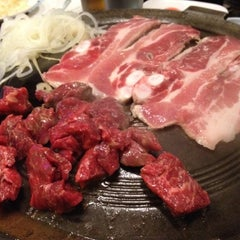 Photo taken at Honey Pig Gooldaegee Korean Grill by Mike S. on 6/7/2012