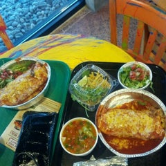 Photo taken at Cafe Rio Mexican Grill by Chris H. on 2/27/2012