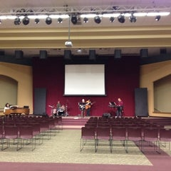 Photo taken at Central Assembly of God by Hideaki M. on 3/22/2012