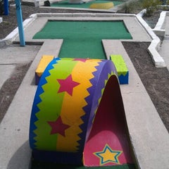 Photo taken at Peter Pan Mini Golf by Patrick N. on 6/29/2012