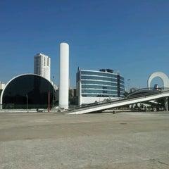Photo taken at Memorial da América Latina by Cristiano Z. on 8/31/2012